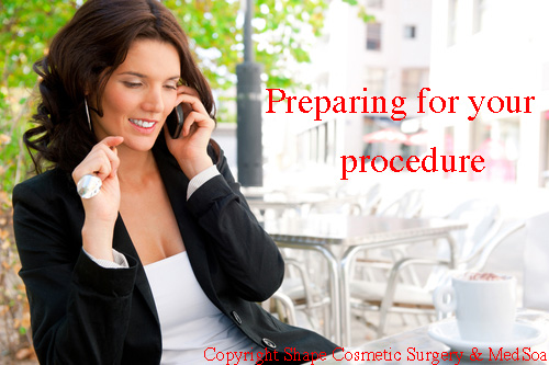 preparing for your procedure